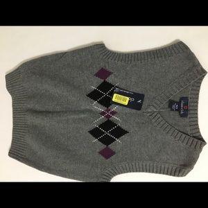 Boys Class Club Sweater Vest